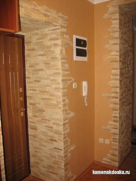отделка и дизайн входной двери квартиры