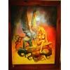 СРОЧНО продам копию картины Сирена известного художника Бориса Валеджо