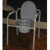 Кресло-туалет с цельной рамой для инвалидов и пожилых